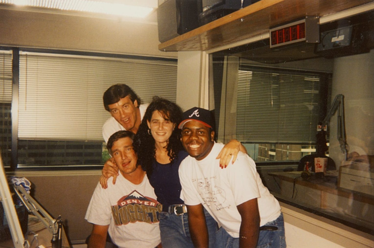 The original Sports Zoo crew in 1994